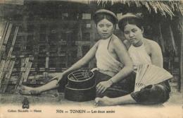 TONKIN LES DEUX AMIES COLLECTION DIEULEFILS - Vietnam