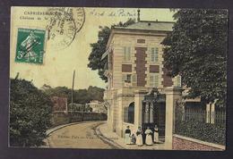 CPA 78 - CARRIERES-SOUS-BOIS - Carrières-sous-Bois - Château De La Chataigneriae - TB EDIFICE + Jolie ANIMATION Entrée - Autres Communes