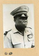 Photo Originale , Le Général  CHRISTOPHE SOGLO  Président Du  DAHOMEY  En 1967 - Guerre, Militaire
