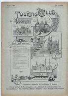 1904 TOURING CLUB DE BELGIQUE LES CHASSEURS CYCLISTES AU CAMP BEVERLOO LA RESIDENCE ROYALE LE CONGRES DE VIENNE FLANDRE - 1900 - 1949