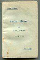 Henri LESÊTRE Saint Henri 1926 - Livres, BD, Revues