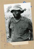 Photo Originale , JOHN GARANG Homme  Politique Militaire Du  SOUDAN  En 1964 - Guerre, Militaire