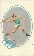 Giochi Olimpici, Roma 1960, Lancio Del Giavellotto, Riproduzione B56, Reproduction - Giochi Olimpici