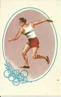 Giochi Olimpici, Roma 1960, Lancio Del Disco, Riproduzione B57, Reproduction - Giochi Olimpici