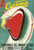 Campionati Del Mondo Di Bob, Cortina D'Ampezzo 1960, Riproduzione B60, Reproduction - Sport Invernali