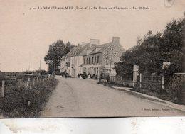 Le Vivier  Sur  Mer -    La  Route  De  Cherrueix -   Les  Hôtels. - Autres Communes