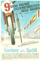 9° Gran Premio Ciclomotoristico Delle Nazioni, Corriere Dello Sport, Riproduzione B62, Reproduction - Motociclismo