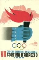 VII Giochi Olimpici Invernali, Cortina D'Ampezzo 1956, Riproduzione B63, Reproduction - Olympic Games