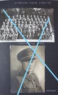 Photox7 ABL 1er Régiment CARABINIER CYCLISTE WIELRIJDERS 1935 36 Compagnie école Sous Officier Militaria - War, Military
