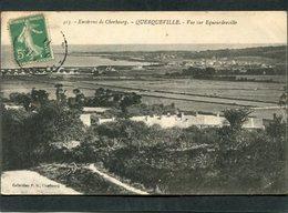 CPA - Environs De Cherbourg - QUERQUEVILLE - Vue Sur Equeurdreville - France