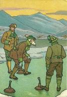 Gara Di Curling, Riproduzione B64, Reproduction - Sport Invernali