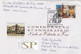 Portugal 2013 Núcleo Filatelia Faro Rota Das Catedrais 2012 Sé Igreja Cathédrale Cathedral Algarve Kathedrale Kathedraal - Poststempel (Marcophilie)