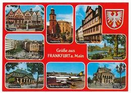 CPSM 10.5 X 15 Allemagne (80) Hesse FRANKFURT AM MAIN Francfort Sur Le Main - Frankfurt A. Main