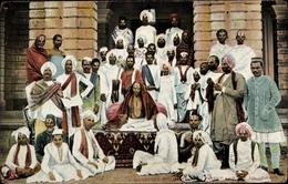 Cp Indischer Geistlicher Mit Jüngern - Indien