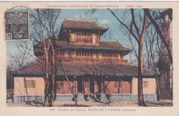 75 - PARIS - EXPOSITION COLONIALE 1931 - PAVILLON DE L'ANNAM ARCHITECTES BLANCHE & CRASTE - Exposiciones