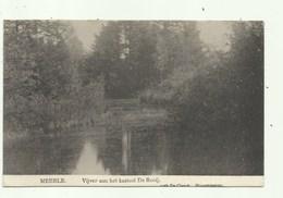 Meerle - Vijver Aan Het Kasteel De Rooij - Verzonden 1910 - Hoogstraten
