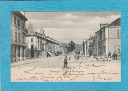 Delémont. - Place De La Gare. - Altri