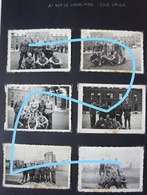 Photox6 ABL 1er Régiment De CARABINIER Place Dailly Schaerbeek Bruxelles Infanterie De Ligne Leger Armée Militaria - Guerre, Militaire