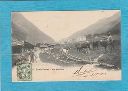 Suisse. - Zinal ( Valais ) - Vue Générale. - Altri