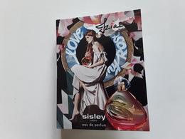 """SISLEY    """" IZIA   Eau De Parfum  """" ***  échantillon S/ Carte   !! - Cartes Parfumées"""
