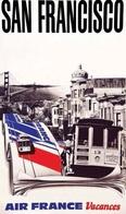 @@@ MAGNET - San Francisco - Air France - Publicitaires