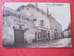 CPA - CHAMPLITTE - ATELIER GARAGE ROUSSEL - France