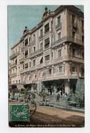 - CPA ORAN (Algérie) - Le Royal Hôtel & La Brasserie Guillaume Tell 1908 - Edition L. V. N° 4 - - Oran