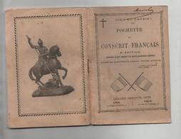 Dieu Et Patrie Pochette Du Conscrit Français Maviel Abbé Jurand Avignon 1903 Curé Pouget - Unclassified