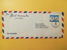 1978 BUSTA INTESTATA AIR MAIL FILIPPINE PILIPINAS BOLLO CONFERENCE MANILA ANNULLO MANILA STORIA POSTALE - Filippine