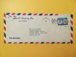 1978 BUSTA INTESTATA AIR MAIL FILIPPINE PILIPINAS BOLLO CONFERENCE MANILA ANNULLO MANILA STORIA POSTALE ETICHETTA - Filippine