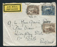 Iraq - Enveloppe De Bagdad Pour Le Royaume Uni En 1928 Par Avion, Affranchissement Plaisant -  Réf J11 - Iraq