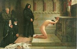 Novizia (Giovane Suora) Nuda In Penitenza (Sexi, Pin Up), Riproduzione B94, Reproduction - Pin-Ups