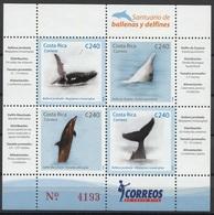 2008Costa Rica1701-04/B26Sea Fauna19,00 € - Poissons