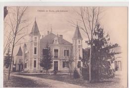 CPA - Château De BUROS Près De Gabarret - Gabarret