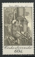Tchécoslovaquie -Tschechoslowakei - Czechoslovakia 1975 Y&T N°2083 - Michel N°2240 (o) - 60h œuvre De V Hollar - Tchécoslovaquie