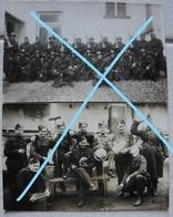 Photo ABL 8de Linieregiment Uit IEPER 1938 39 Infanterie Leger Militaria - Guerre, Militaire