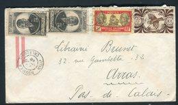 Nouvelle Calédonie - Enveloppe De Nouméa Pour La France En 1946 Par Avion, Affranchissement Plaisant -  Réf J23 - Storia Postale