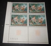 France 1970 Neuf** N° 1652 Tableau De BOUCHER Bloc De 4 TIMBRES - Feuilles Complètes