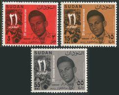Sudan 179-181,MNH.Michel 206-208. October 21st Revolution,1965.Gurashi,hero. - Famous People