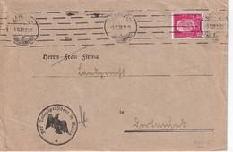 ALLEMAGNE 1930 LETTRE DE BERLIN  PERFORE  POL LOCHUNG - Deutschland