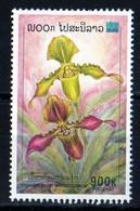 Laos 2000 Orchidée Fleur 900 Kip Used Oblitéré N° 1372 - Laos