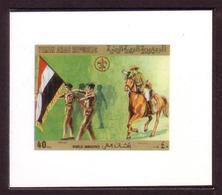 Yemen Chromalin Proof - 1980  - Scout Jamboree - Scouting