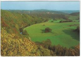9Dp-732: BARVAUX SUR OURTHE Sentier Touristique Au Fonds De Glawan  1991 > Kortemark - België