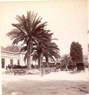 AK-1976/ Nizza  Bahnhof Mit Avenue Thiers Stereofoto V Alois Beer ~ 1900 - Stereoscopic