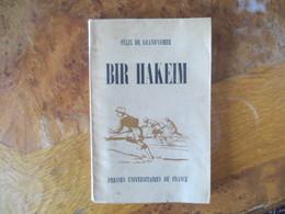 BIR HAKEIN- 1945- FELIX DE GRAND'COMBE - CENSURE MILITAIRE N° 1726 - 1939-45