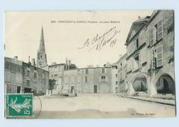 B470/ Frankreich Fontenay Le Comte Vendée La Place Belliard 1911 AK - France