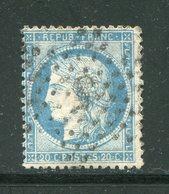 Y&T N°60A- étoile 5 Cassée - 1871-1875 Ceres