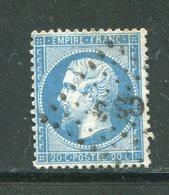 Y&T N°22- Bureau CS3 Bâton - 1862 Napoleon III