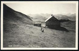 B2387 - Kitzbühel Kitzbüheler Horn Schutzhütte Hütte - Alpenverein - Stempel - Helff Lichtbild - Kitzbühel