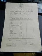 12.3) MILANO SCUOLA AVVIAMENTO COMMERCIALE ARNALDO ARIOLI PAGELLA 1952 FORMATO 24 X 34 Cm IN BUONE CONDIZIONI - Diplomi E Pagelle
